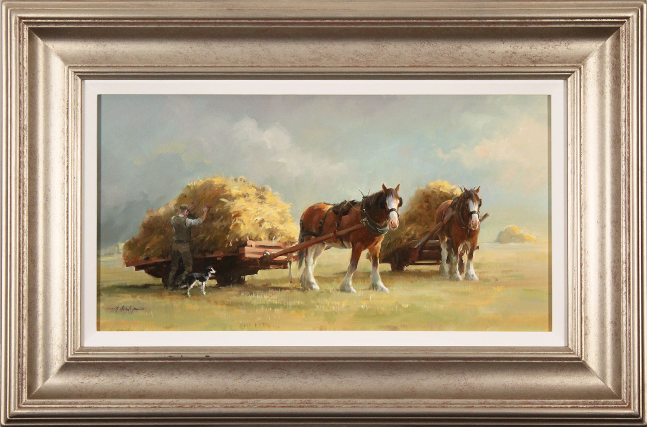 Jacqueline Stanhope, Original oil painting on canvas, The Harvest. Click to enlarge