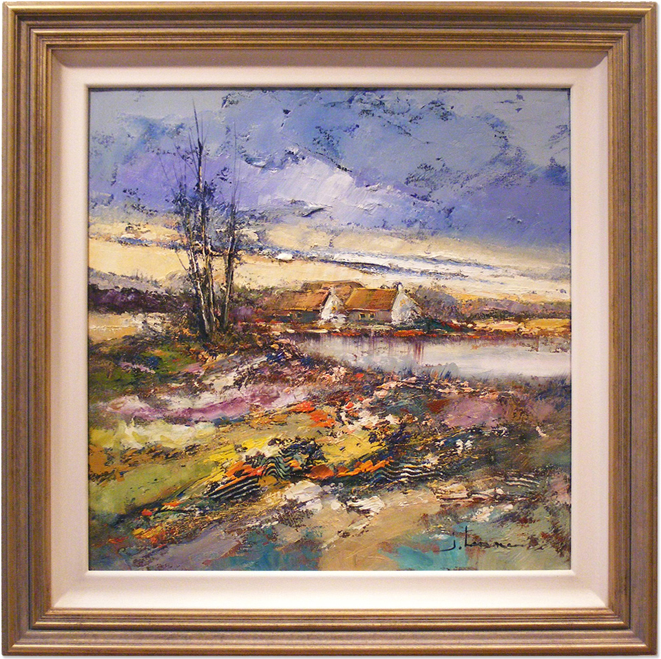 Jef Lenaers, Original oil painting on canvas, Untitled. Click to enlarge