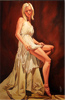 John Luce Lockett, Original oil painting on canvas, Heart