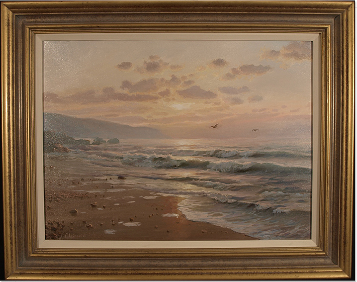 Juriy Ohremovich, Original oil painting on canvas, Seascape, click to enlarge