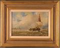 Paul Zander, Original oil painting on panel, Marine Scene Large image. Click to enlarge