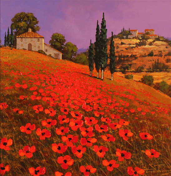 Poppy Oil Paintings Uk