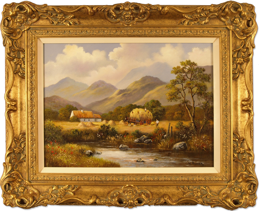 Wendy Reeves, Original oil painting on canvas, Country Scene, click to enlarge