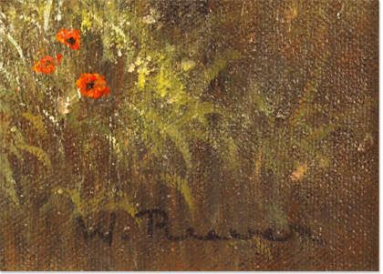 Wendy Reeves, Original oil painting on canvas, Country Scene Signature image. Click to enlarge