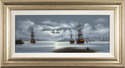 Alex Hill, Original oil painting on canvas, Out to Sea