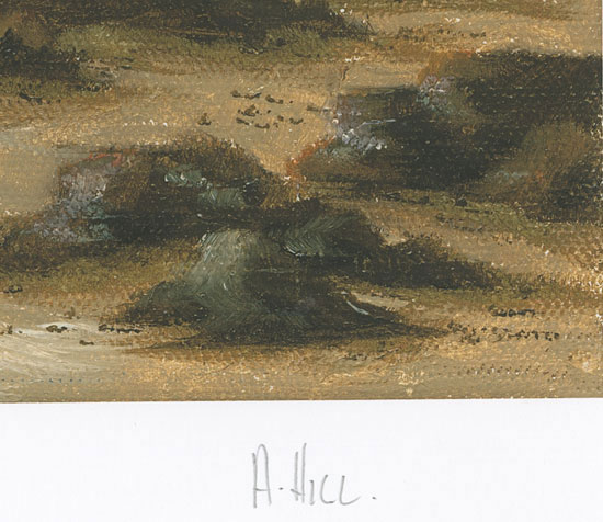 Alex Hill, Signed limited edition print, Smuggler's Cove Signature image. Click to enlarge