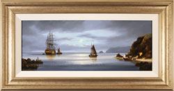 Alex Hill, Original oil painting on canvas, Return to Smuggler's Cove Large image. Click to enlarge