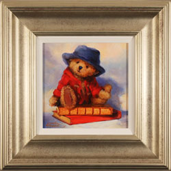 Amanda Jackson, Original oil painting on panel, Bear's Best Adventures