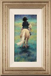 Amanda Jackson, Original oil painting on panel, My Little Pony Large image. Click to enlarge