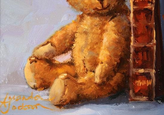 Amanda Jackson, Original oil painting on panel, My Favourite Friends Signature image. Click to enlarge