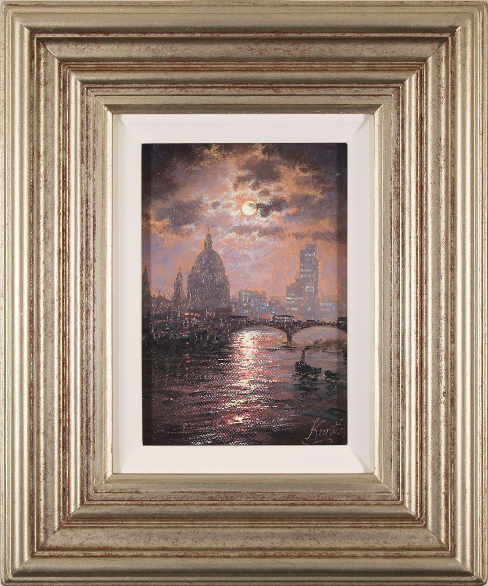 Andrew Grant Kurtis, Original oil painting on canvas, Thames Sparkle. Click to enlarge
