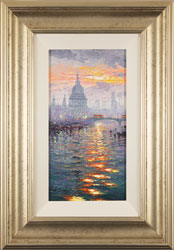 Andrew Grant Kurtis, Original oil painting on canvas, Thames Sparkle