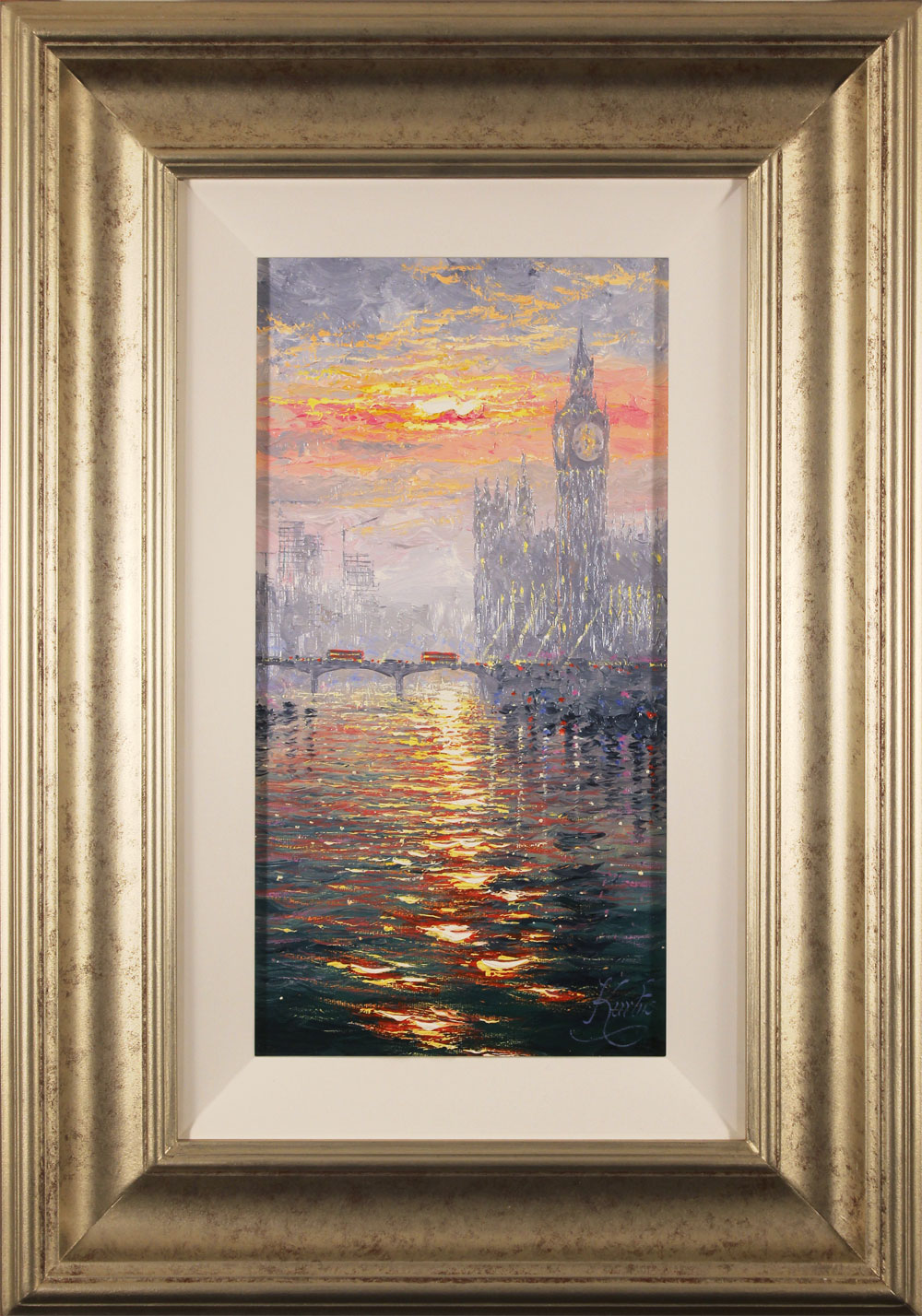 Andrew Grant Kurtis, Original oil painting on canvas, Westminster Haze, click to enlarge