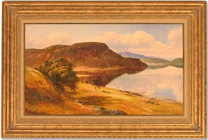 Andrew Grant Kurtis, Original oil painting on panel, The Lake District