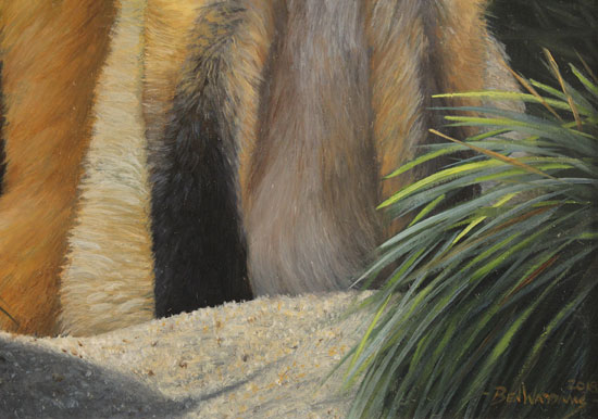 Ben Waddams, Original oil painting on panel, A Curious Pair Signature image. Click to enlarge