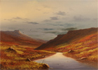 Brian Horswell, Original oil painting on panel, Landscape