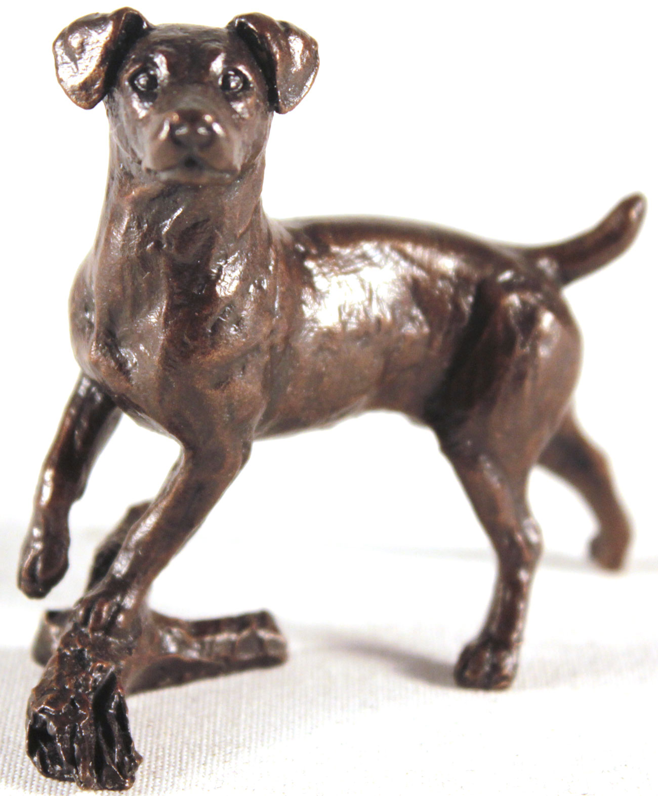 Michael Simpson, Bronze, Small Jack Russell. Click to enlarge