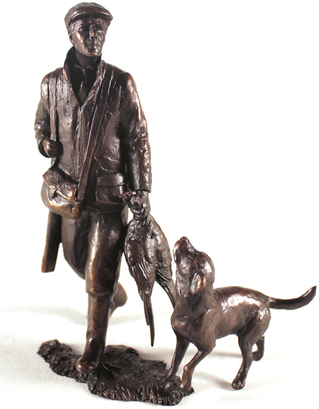 Michael Simpson, Bronze, End of the Day. Click to enlarge
