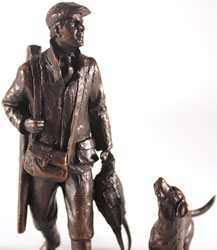 Michael Simpson, Bronze, End of the Day Large image. Click to enlarge
