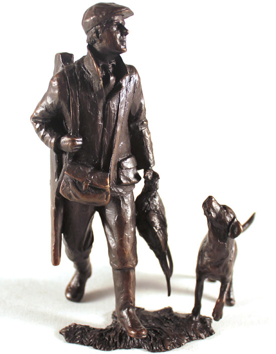 Michael Simpson, Bronze, End of the Day Without frame image. Click to enlarge