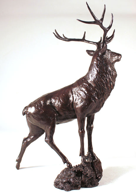 Michael Simpson, Bronze, Moorland No frame image. Click to enlarge