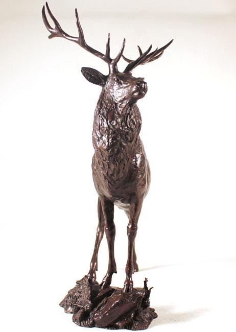 Michael Simpson, Bronze, Moorland Signature image. Click to enlarge