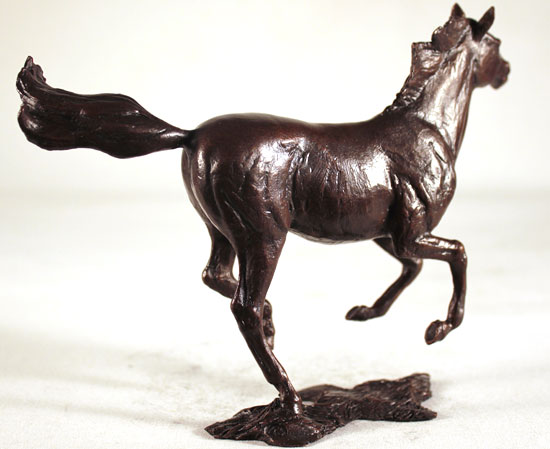 Michael Simpson, Bronze, Liberty No frame image. Click to enlarge
