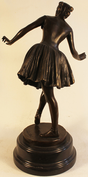 Bronze Statue, Bronze, The Ballerina Without frame image. Click to enlarge