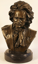 Bronze Statue, Bronze, Beethoven Large image. Click to enlarge