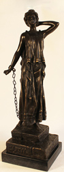 Bronze Statue, Bronze, Captive Large image. Click to enlarge