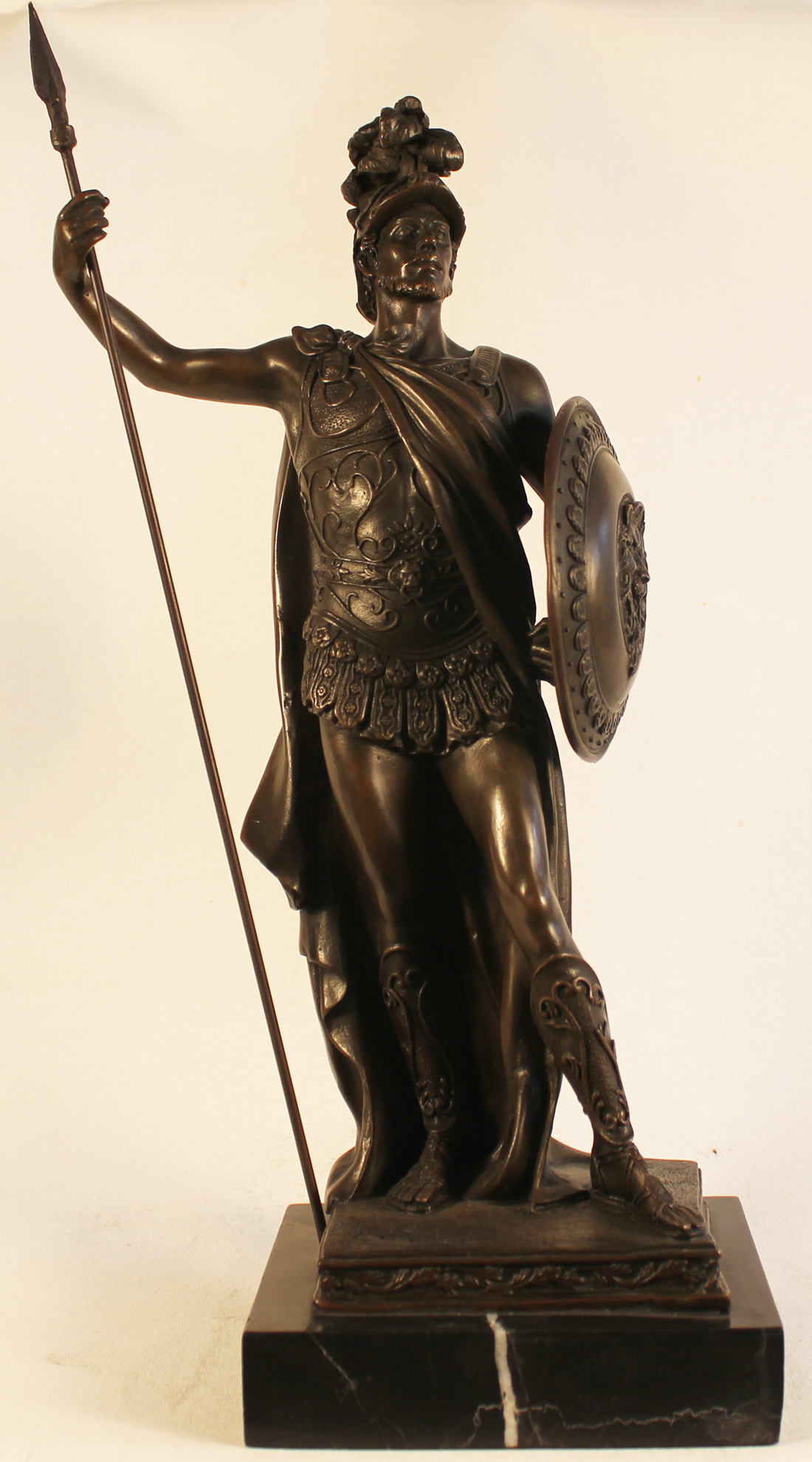 Bronze Statue, Bronze, Roman Soldier, click to enlarge