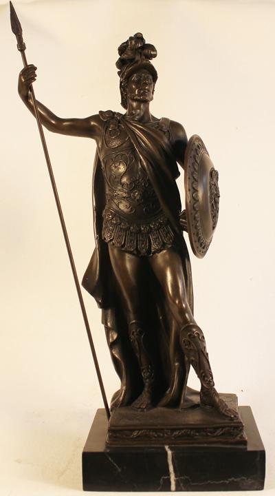 Bronze Statue, Bronze, Roman Soldier