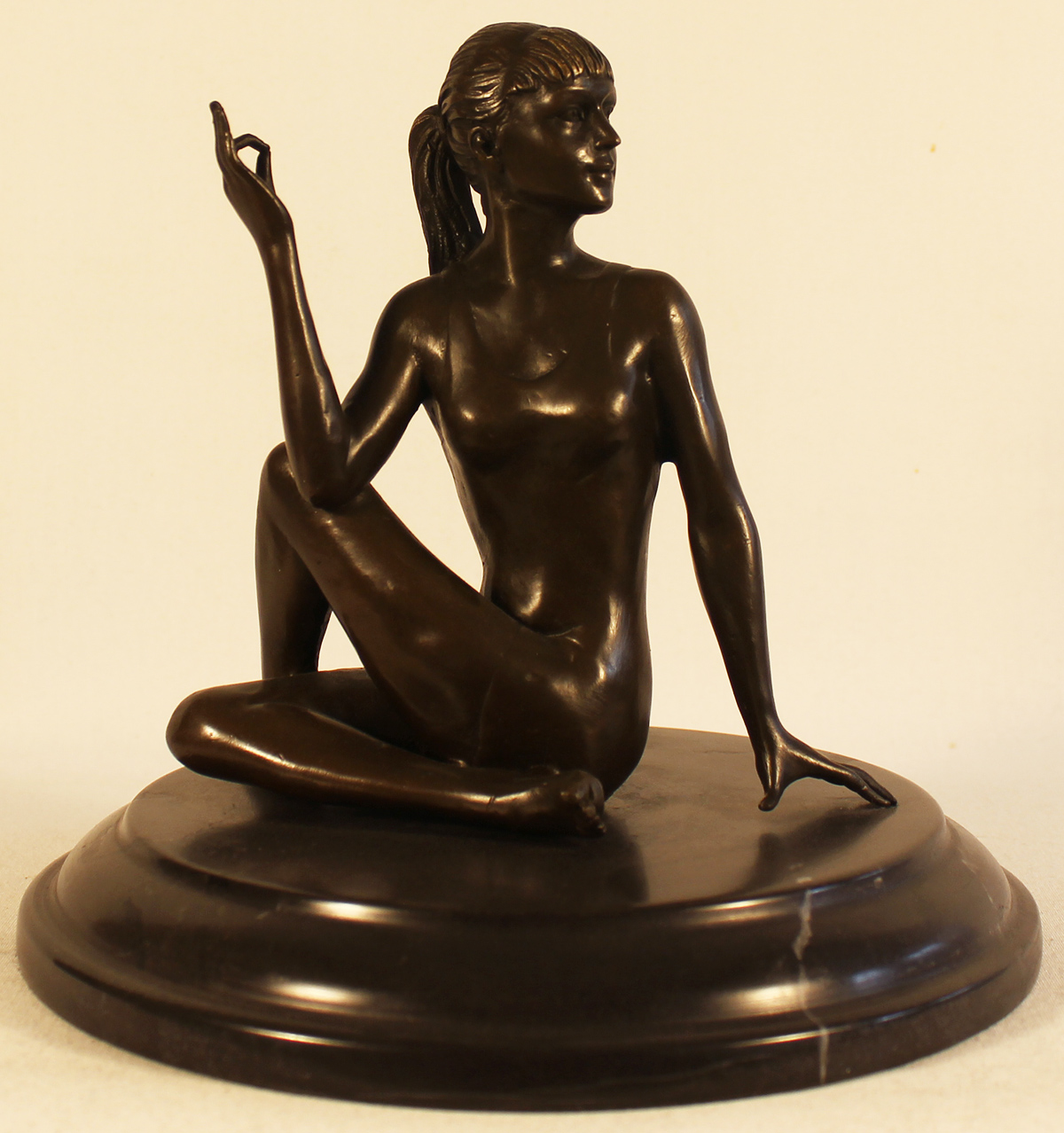 Bronze Statue, Bronze, Meditation. Click to enlarge