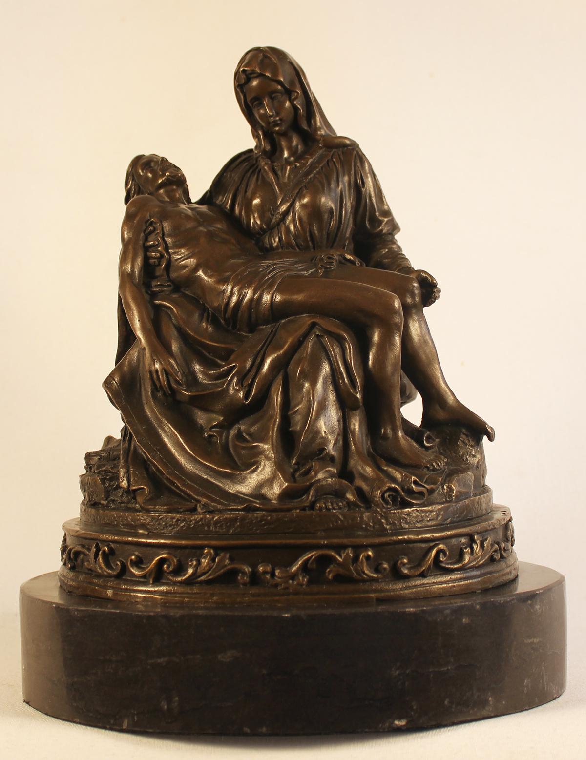Bronze Statue, Bronze, Pieta, click to enlarge