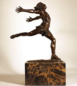 Bronze Statue, Bronze, Dancer Large image. Click to enlarge