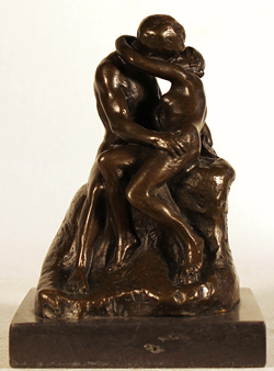 Bronze Statue, Bronze, The Kiss