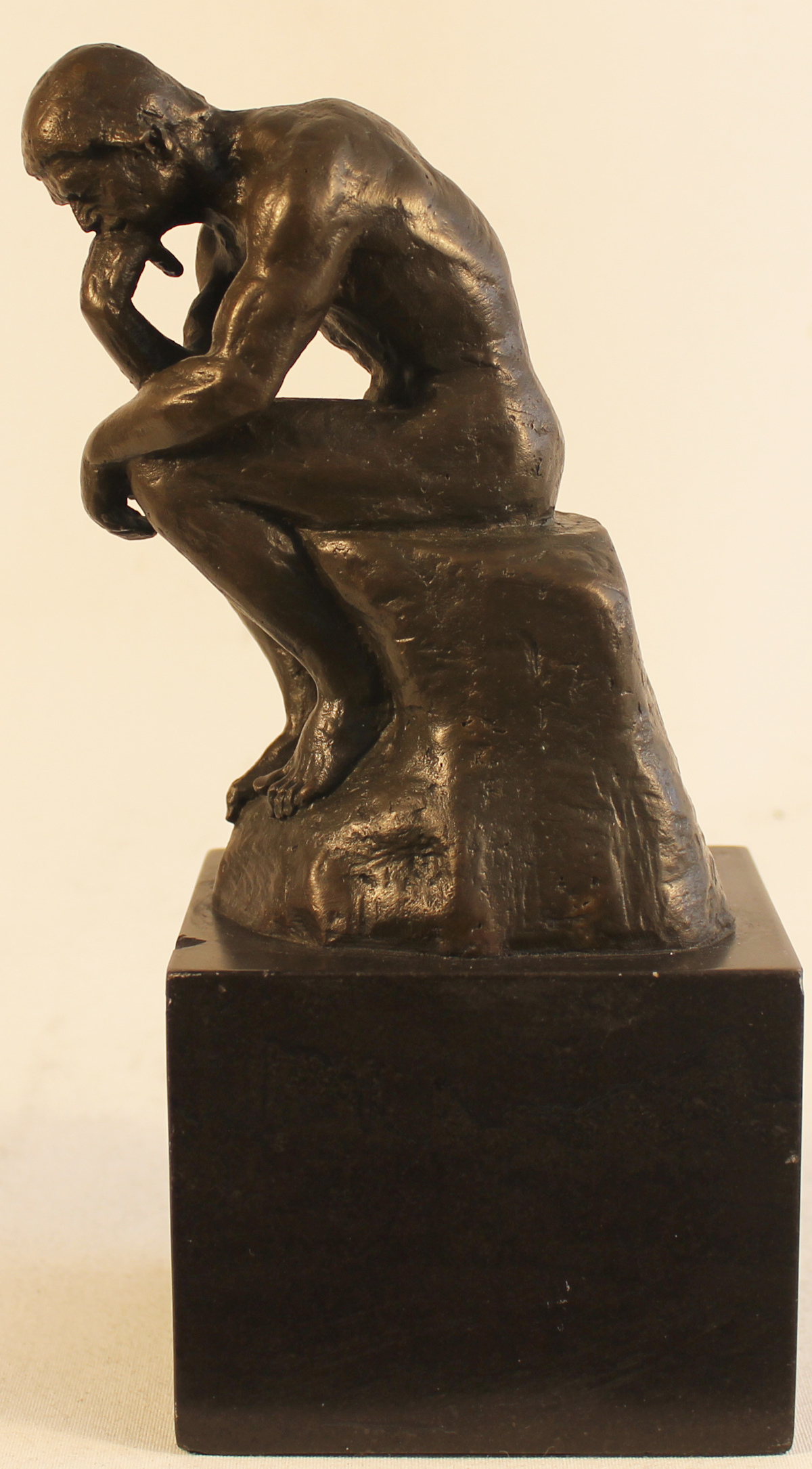 Bronze Statue, Bronze, The Thinker . Click to enlarge