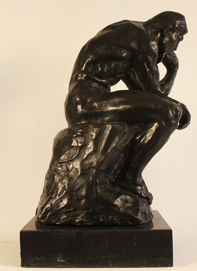 Bronze Statue, Bronze, The Thinker