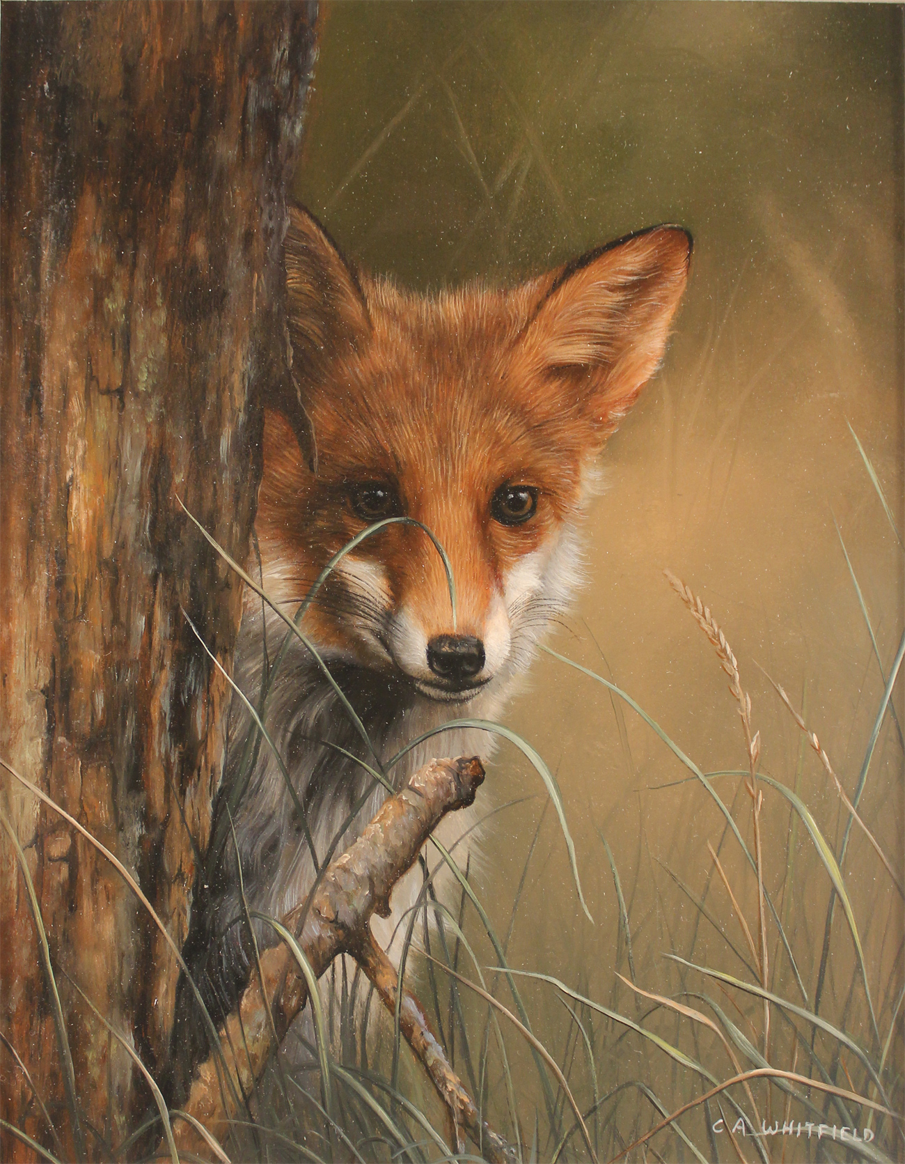 British Wildlife Paintings For Sale