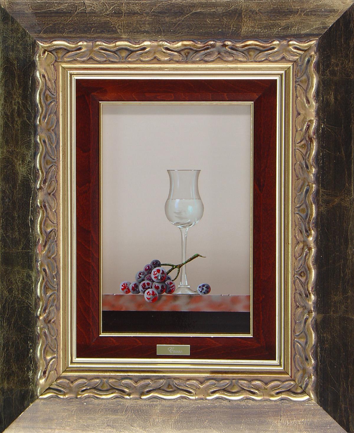 Casas, Original oil painting on panel, Still Life. Click to enlarge