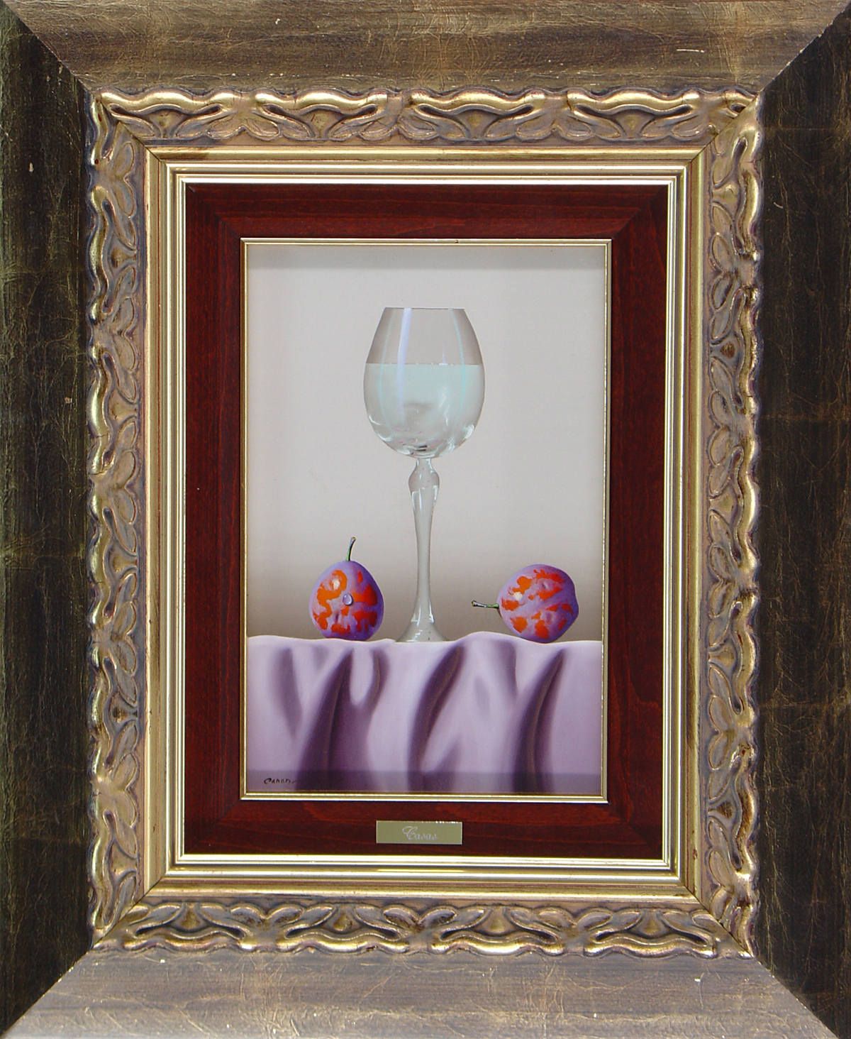 Casas, Original oil painting on panel, Still Life, click to enlarge