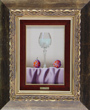 Casas, Original oil painting on panel, Still Life