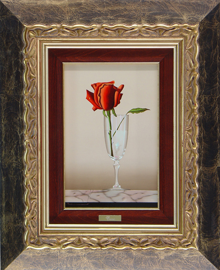 Casas, Original oil painting on panel, Still Life Without frame image. Click to enlarge