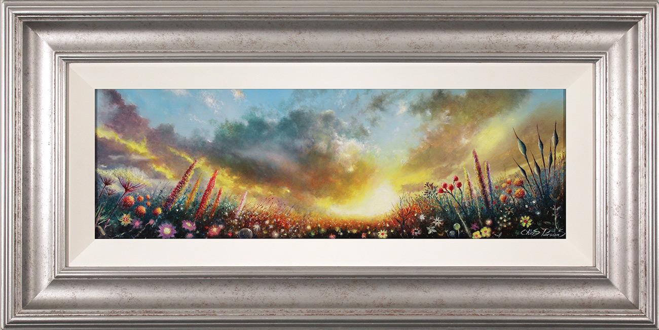 Chris Parsons, Original oil painting on panel, Sunrise Symphony, click to enlarge