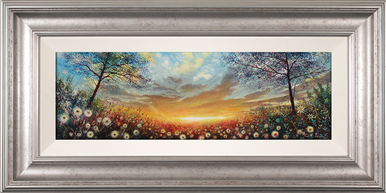 Chris Parsons, Original oil painting on panel, The Dawn Chorus, click to enlarge