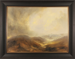 Clare Haley, Original oil painting on panel, Walk the Golden Vale