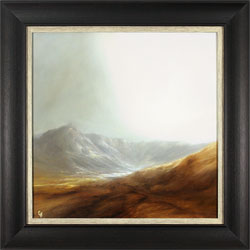 Clare Haley, Original oil painting on panel, Moment of Calm