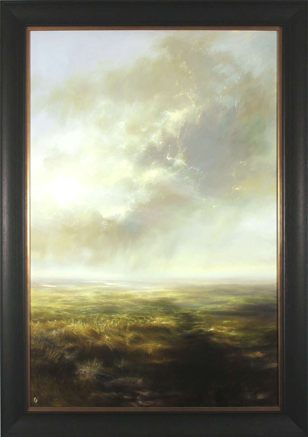 Clare Haley, Original oil painting on panel, Far and Away, click to enlarge