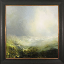 Clare Haley, Original oil painting on panel, Veil on the Valley