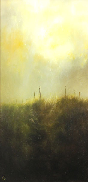Clare Haley, Original oil painting on panel, The Way is Open